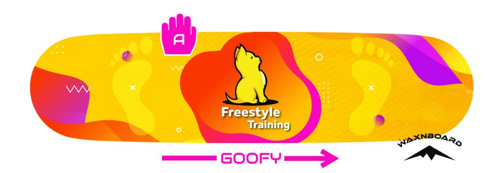 Afbeelding van Freestyle Snowboard Goofy Indy Grab