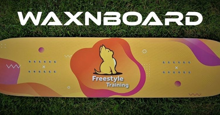 Jib en trampoline board voor freestyle snowboard