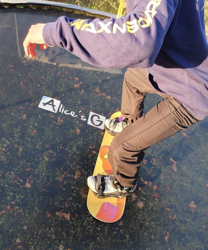 Trampoline Board Wax&Board
