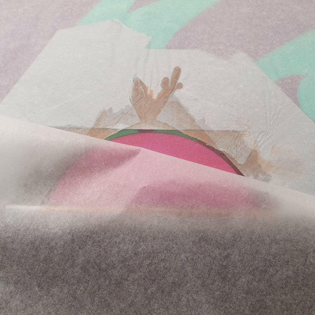 Snowboard core epoxy glue
