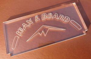 ski wax scraper