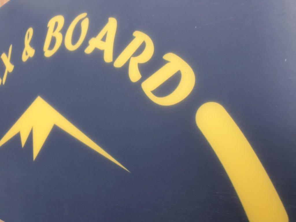 Freestyle Snowboard Jib Board met Ptex base