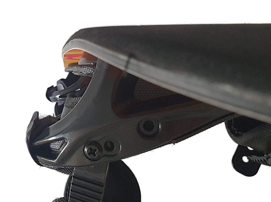snowboard trampoline board with bindings