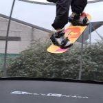 grab freestyle snowboard