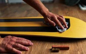 waxen snowboard onderhoud