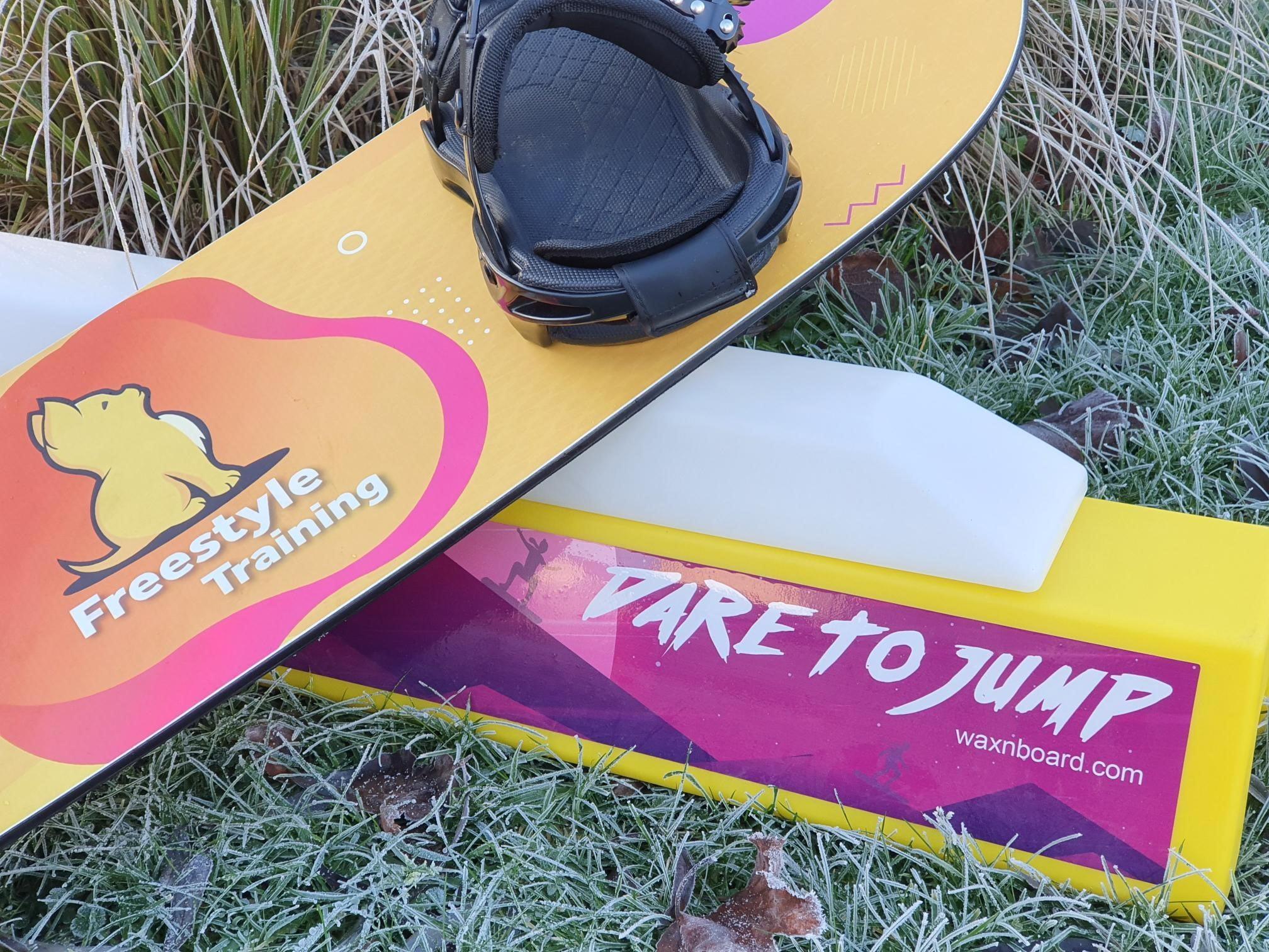 balance bar freestyle snowboard training