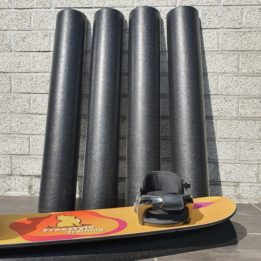 Balans balk voor freestyle snowboard